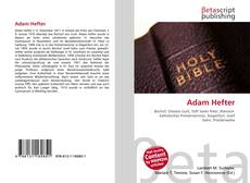 Bookcover of Adam Hefter