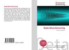 Rada Manufacturing的封面