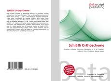 Couverture de Schläfli Orthoscheme