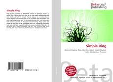 Capa do livro de Simple Ring