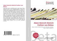 Portada del libro de Adam Heinrich Dietrich Freiherr von Bülow