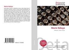 Bookcover of Marie Ndiaye