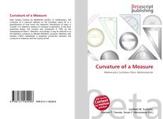 Bookcover of Curvature of a Measure