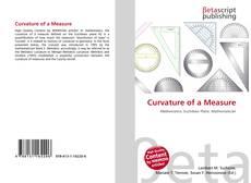 Copertina di Curvature of a Measure