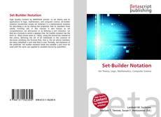 Set-Builder Notation的封面