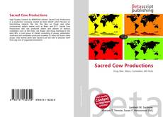 Sacred Cow Productions kitap kapağı