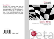 Sacred Dance kitap kapağı