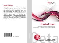 Bookcover of Simplicial Sphere