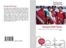 Bookcover of Narayan Dutt Tiwari
