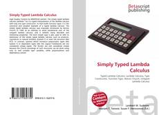 Portada del libro de Simply Typed Lambda Calculus