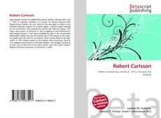 Robert Carlsson的封面