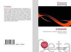 Bookcover of U-Statistic