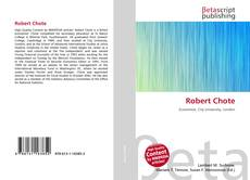 Bookcover of Robert Chote
