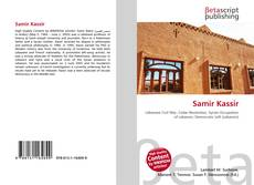 Bookcover of Samir Kassir