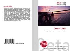 Portada del libro de Ocean Liner