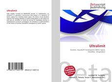 Bookcover of Ultralimit