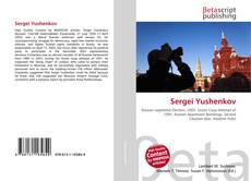 Bookcover of Sergei Yushenkov