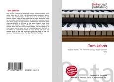Bookcover of Tom Lehrer