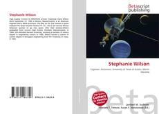 Stephanie Wilson kitap kapağı