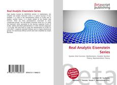 Bookcover of Real Analytic Eisenstein Series