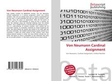Portada del libro de Von Neumann Cardinal Assignment