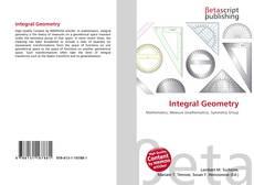 Borítókép a  Integral Geometry - hoz