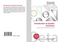 Bookcover of Introduction to Systolic Geometry