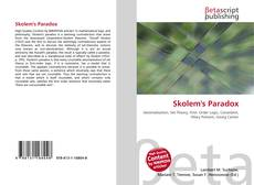 Bookcover of Skolem's Paradox