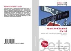 Bookcover of Adalet ve Kalkınma Partisi