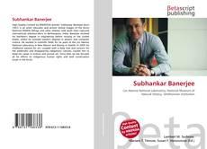 Bookcover of Subhankar Banerjee