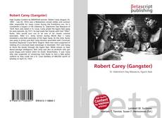 Bookcover of Robert Carey (Gangster)