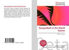 Portada del libro de Racquetball at the World Games