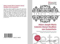 Adam Joseph Maria Valentin Donat Heußlein von Eussenheim的封面
