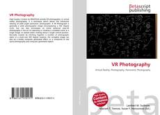 Bookcover of VR Photography
