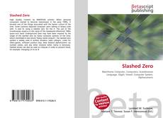 Bookcover of Slashed Zero