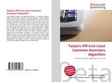 Couverture de Tarjan's Off-Line Least Common Ancestors Algorithm
