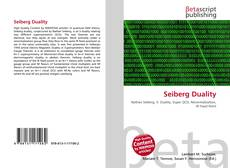 Bookcover of Seiberg Duality