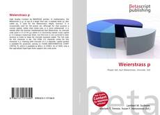 Bookcover of Weierstrass p