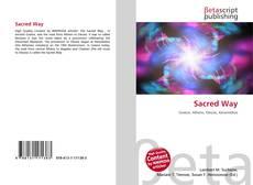 Sacred Way kitap kapağı