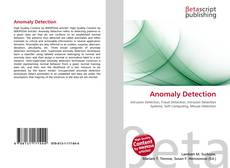 Bookcover of Anomaly Detection