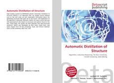 Couverture de Automatic Distillation of Structure