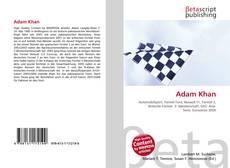 Bookcover of Adam Khan
