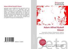 Buchcover von Adam Alfred Rudolf Glauer