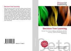 Copertina di Decision Tree Learning
