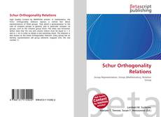 Borítókép a  Schur Orthogonality Relations - hoz