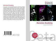 Bookcover of Racovian Academy