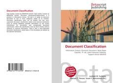 Buchcover von Document Classification