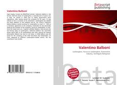 Valentino Balboni的封面