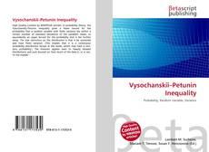 Bookcover of Vysochanskiï–Petunin Inequality