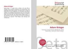 Portada del libro de Adam Krieger